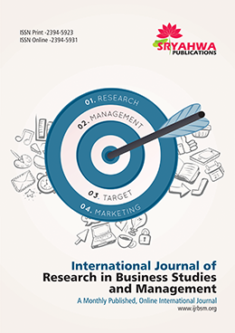 IJRBSM | Management Journals | Business Journals